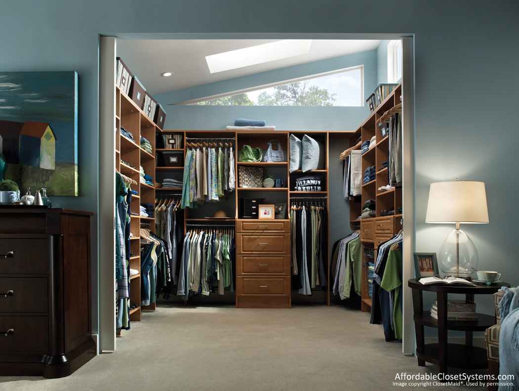 reach in closet lighting ideas - Closet Solutions by Affordable Closet Systems Inc