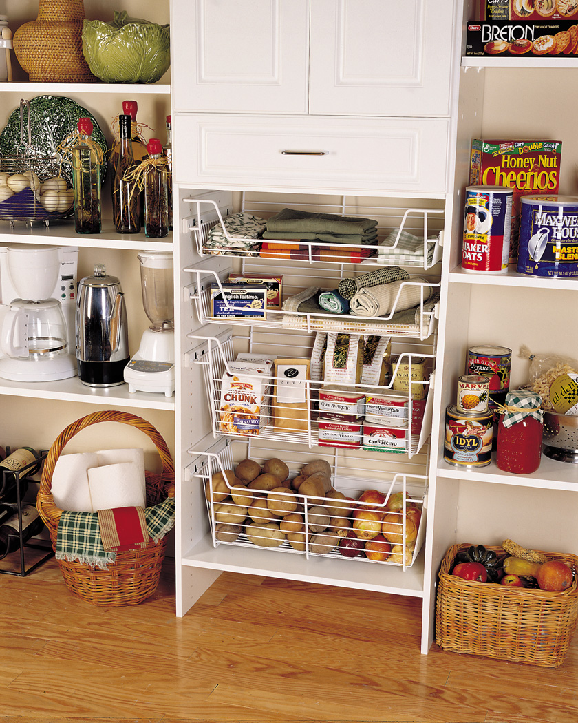 Pantry solutions by affordable closet systems inc for Kitchen closet